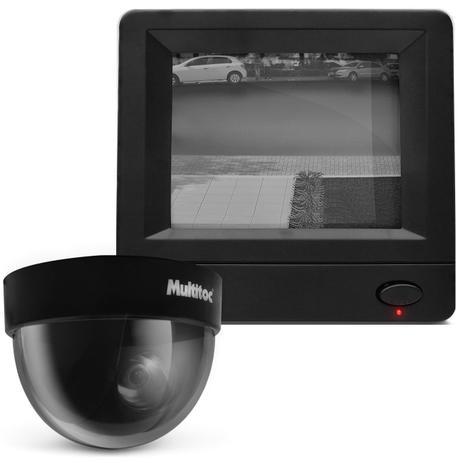 Kit vigil ncia c mera seguran a residencial dome vis o - Camera de vigilancia ...