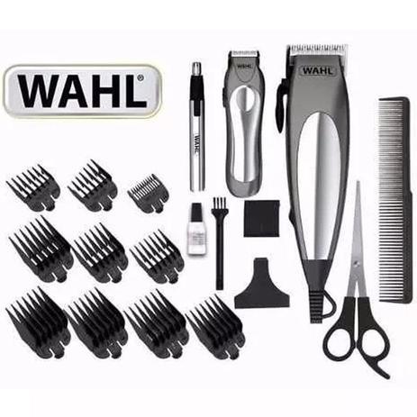 Kit Wahl Máquina De Cortar Cabelo E Barba Deluxe Groom Pro