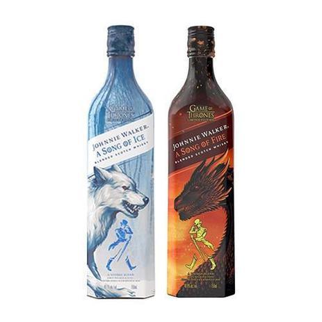 Imagem de Kit Whisky Game Of Thrones -  Song Of Fire e Song Of Ice