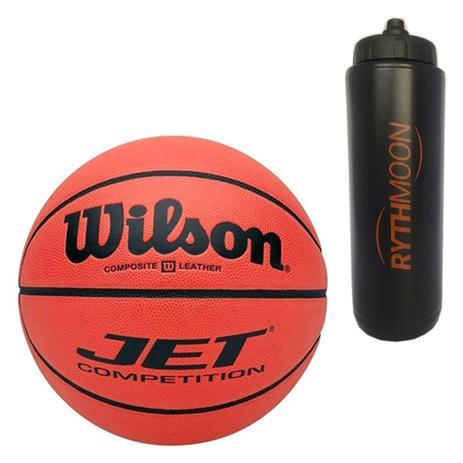 Kt Bola Basquete Ncaa Jet Competition Wilson + Squeeze Automático 1lt -  Rythmoon 103d642147549
