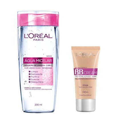 Imagem de L'oréal Paris Kit Água Micelar + BB Cream