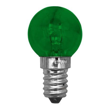 Imagem de Lâmpada Bolinha 7W Decorativa Verde 127V Base E14 Apollo 005476