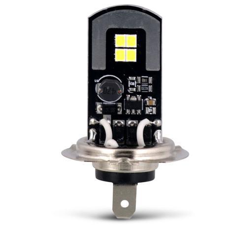 Imagem de Lâmpada LED H7 6500K 12V 24V 10W 1300LM Efeito Xênon Carro Moto e Caminhão Autopoli