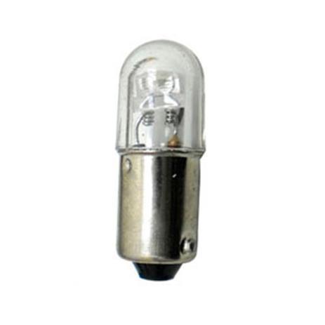 Imagem de Lâmpada tipo 69 led branco 24v 10 pçs 1 polo meia luz