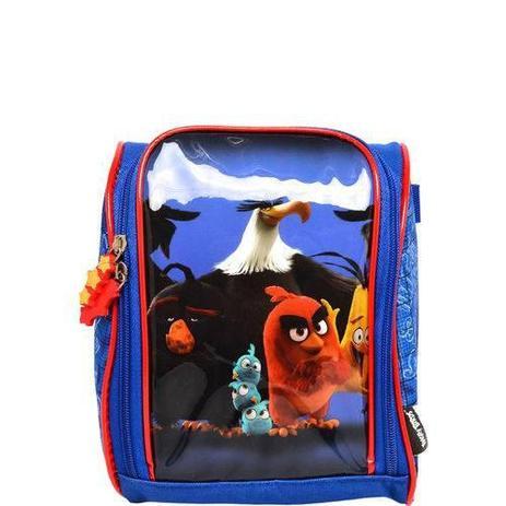 d2672b304 Lancheira Angry Birds Azul ABL801302 Santino - Mochilas e Lancheiras ...