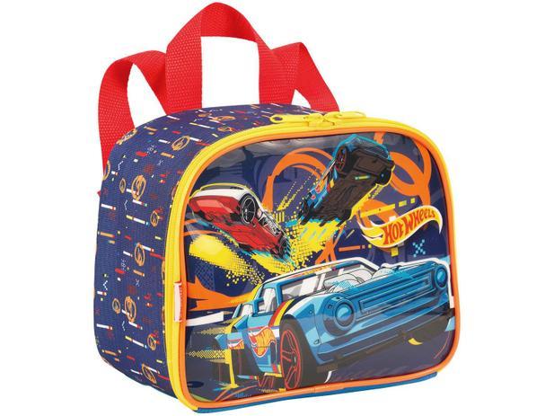 806434ae7 Lancheira Infantil Escolar Hot Wheels - Sestini 19M - Lancheira ...