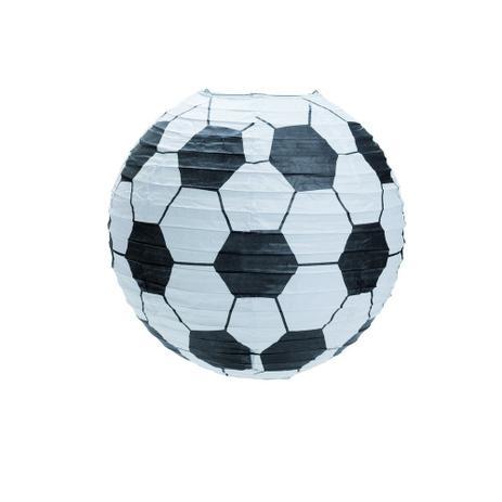 e856b0f07 Lanterna Redonda Futebol Sem Luz 25cm Decoração Festas - Cromus ...