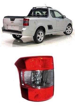 Imagem de Lanterna Traseira Chevrolet Montana 2010 2011 2012 2013 Fumê