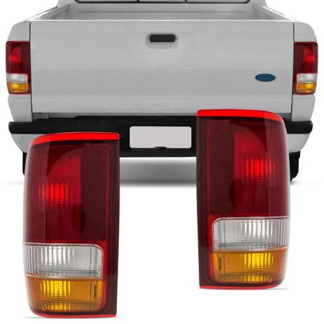 Imagem de Lanterna Traseira Ford Ranger 93 94 95 96 97 Tricolor