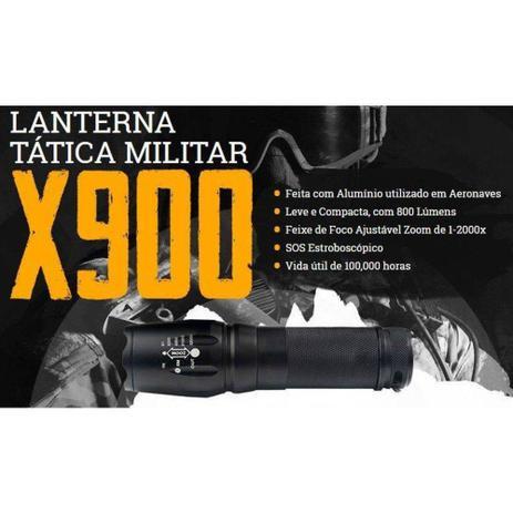 Imagem de Lanterna X900 Original Shadowhaw Tática Militar Americana