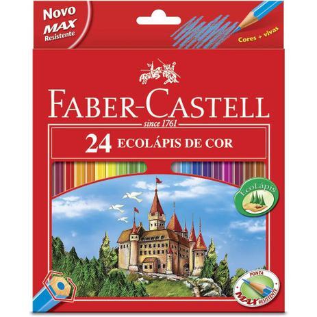 Imagem de Lapis 24 cores sem kit - faber-castell