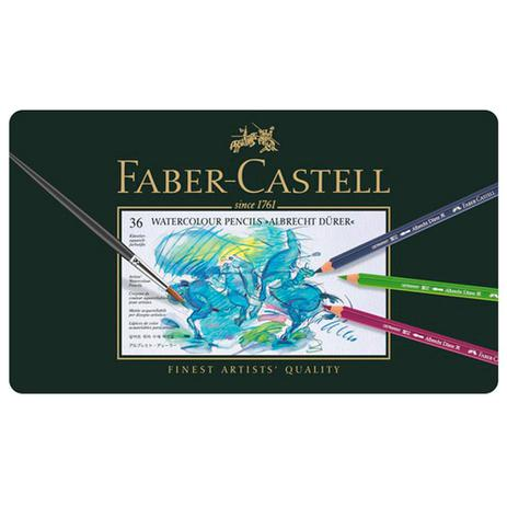Imagem de Lapis Aquarelavel Faber Castell 36 Cores ALBRECHT DÜRER - Ref:117536
