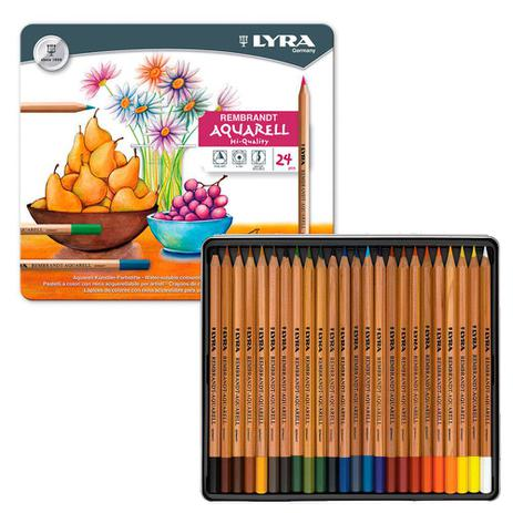 03d62692a4 Lápis Aquarelável Rembradt Lyra com 24 Cores - 2011240 - Lápis de ...