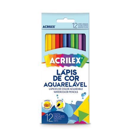 Imagem de Lapis De Cor Aquarelavel C/12Cores - Acrilex