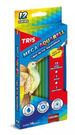 Imagem de Lápis de Cor Aquarelável Tris Mega Aquarell 012 Cores 681047 681047