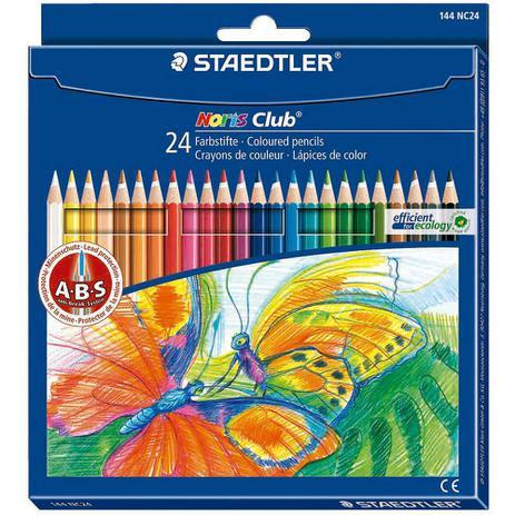 bfc0536843 Lápis de Cor Staedtler Noris Club 24 Cores - Staedlter - Lápis de ...