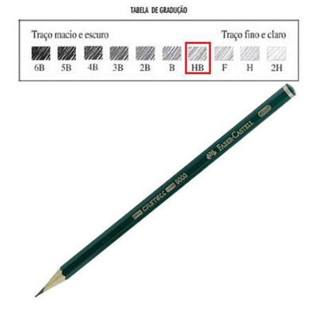 Lapis Preto Sextavado P Desenho 9000 Hb Faber Castell Lapis