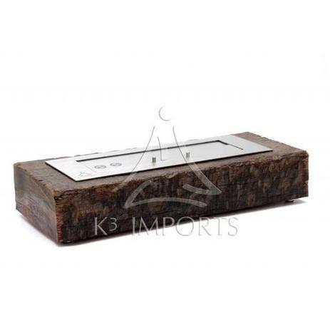 Imagem de Lareira Ecológica À Álcool (Etanol) Modelo Loa De 58cm Com Queimador De 46cm