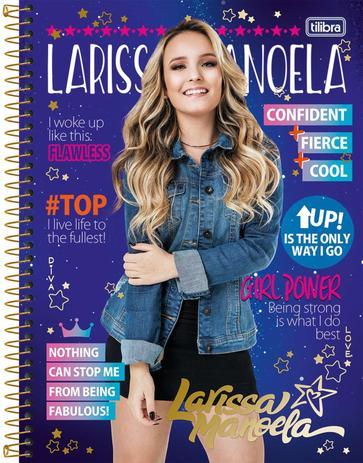 0dbac9bc54b18 Larissa Manoela 80FLS. - Tilibra - Cadernos e Cadernetas - Magazine ...