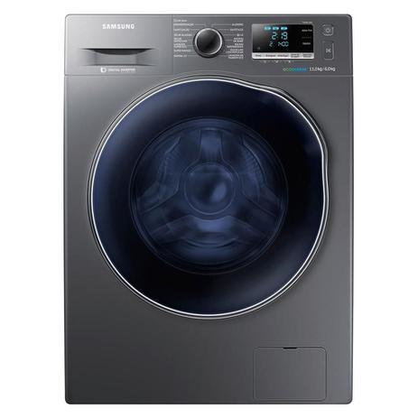 Imagem de Lava e Seca Samsung 11Kg WD6000 WD11J6410AX Ecobubble Look Inox