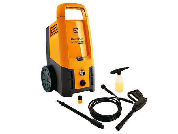 Lavadora de Alta Pressão Electrolux Ultra Wash - 2500 Libras Mangueira 4m Aplicador de Detergente