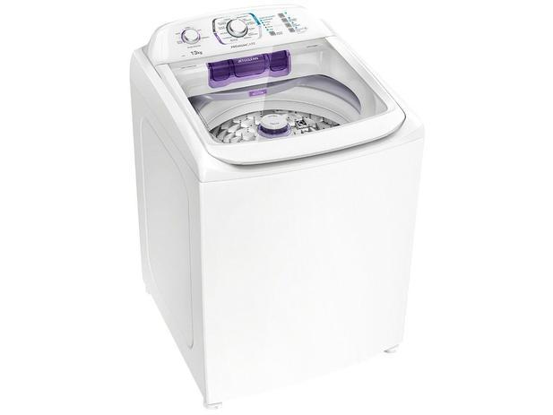 Lavadora de Roupas Electrolux Premium Care LPR13 – 13kg Cesto Inox 12 Programas de Lavagem