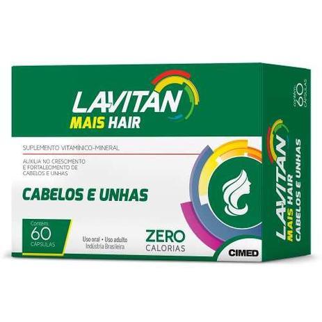 605e4fd6d Lavitan Hair 60cps Promoção - Queda Capilar - Cimed - Vitaminas ...