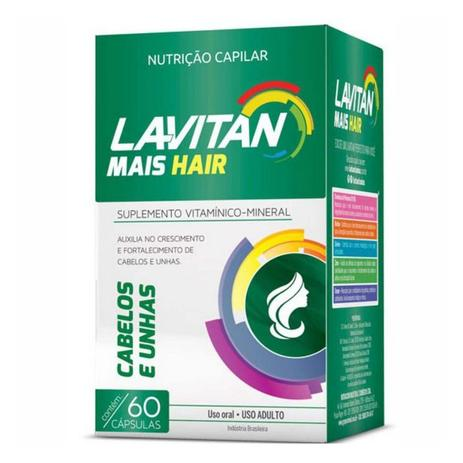 Imagem de Lavitan Mais Hair Cabelos e Unhas 60 cápsulas - Cimed