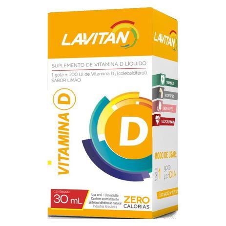939f70c7d Lavitan Vitamina D gotas 30ml - Cimed - Vitaminas - Magazine Luiza