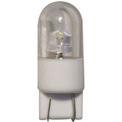 Imagem de LED Base Vidro Grande 12V - 1 LED 2W - Branco (AP828)