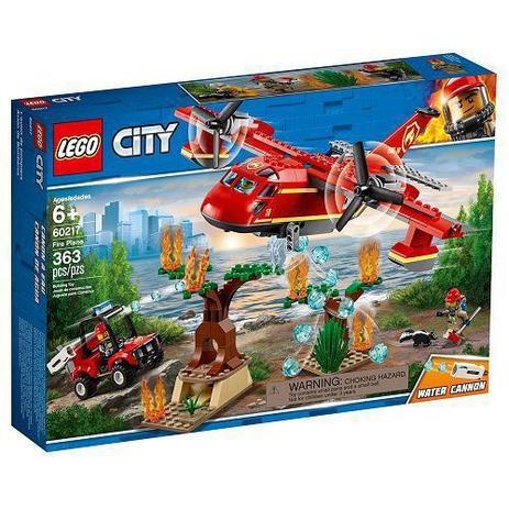 Imagem de Lego CITY Aviao de Combate AO Fogo 60217