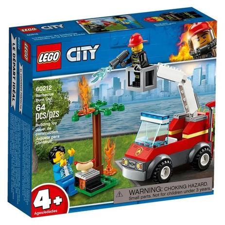 Lego City - Extinção de Fogo no Churrasco - 60212