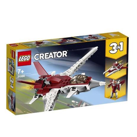 d9801fe36 LEGO Creator - Modelo 3 em 1: Voos Futuristas - Blocos de montar ...