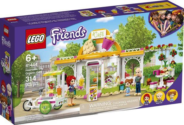 Imagem de Lego friends cafe organico de heartlake city 41444
