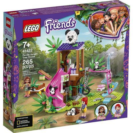 Imagem de Lego Friends Casa Do Panda Na Árvore Da Selva 265 Peças 41422