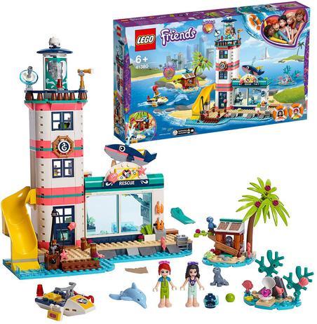 Imagem de Lego friends centro de resgate do farol 41380