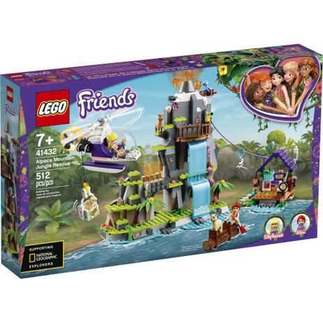 Imagem de LEGO Friends - Resgate de Alpaca na Selva da Montanha - 41432
