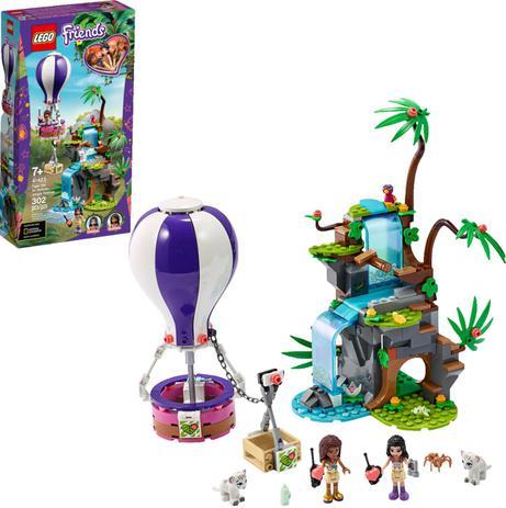 Imagem de Lego Friends Tiger Hot Air Balloon Jungle Rescue - Lego 41423