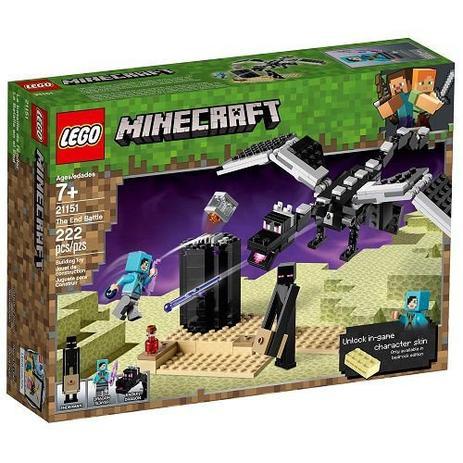 Imagem de Lego Minecraft a Batalha Final 21151