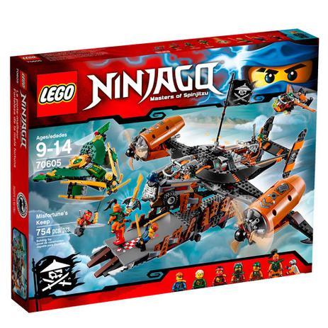 LEGO Ninjago - Masters Of Spinjitzu - Nave Fortuna do Infortuno ...
