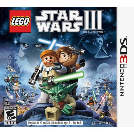 Imagem de Lego Star Wars III: The Clone Wars - 3DS