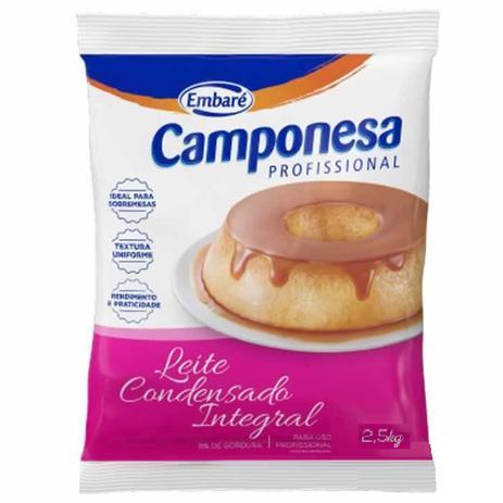 Imagem de Leite Condensado Bag Camponesa 2,5 Kg