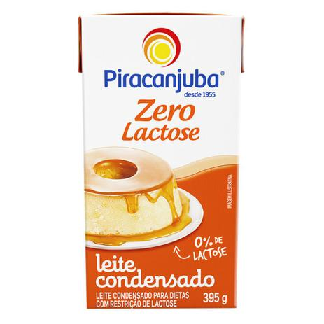 Imagem de Leite Condensado Piracanjuba Zero Lactose 395g