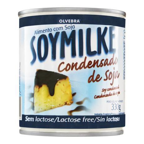 Imagem de Leite Condensado Soymilke à Base de Soja Lata 330 g