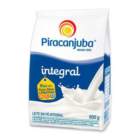 Imagem de Leite em Pó Piracanjuba Integral Sachê 800g