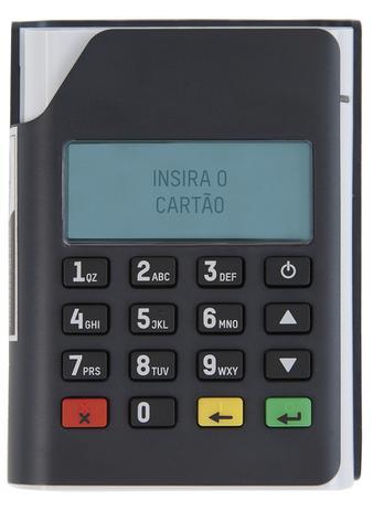 Leitor Mobi PIN 10 - Máquina de cartão - PINpad sem fio Bluetooth USB Gertec - Gertec