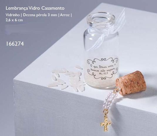 Imagem de Lembrança vidro casamento