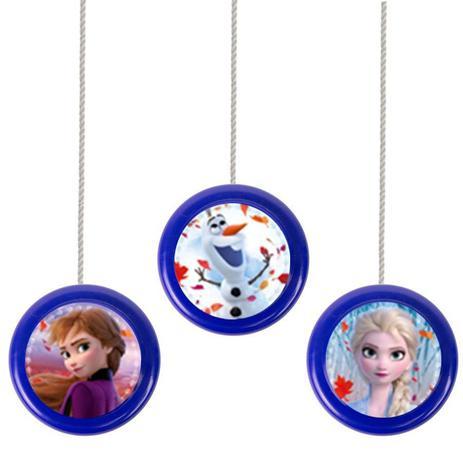 Imagem de Lembrancinha Ioiô Colorido Frozen II 06 unidades