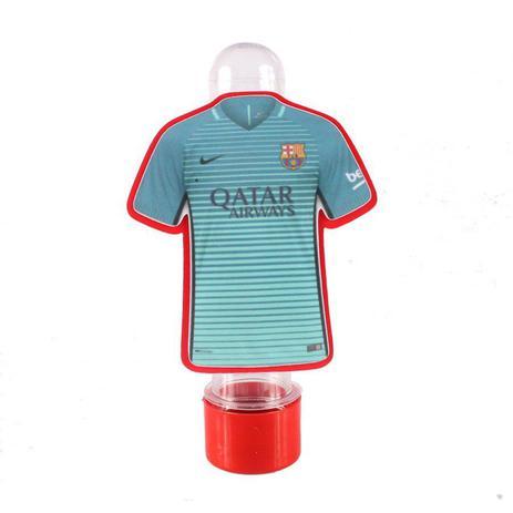 61a686ffef Lembrancinha Tubete Personagem Camisa Barcelona Azul Verde - Aluá festas