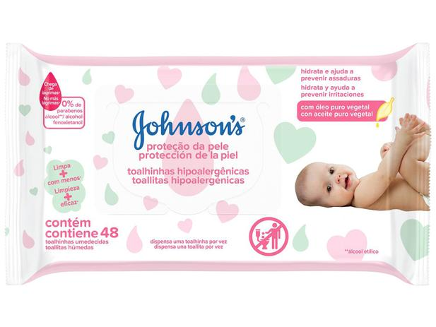 Imagem de Lenço Umedecido Johnsons Baby